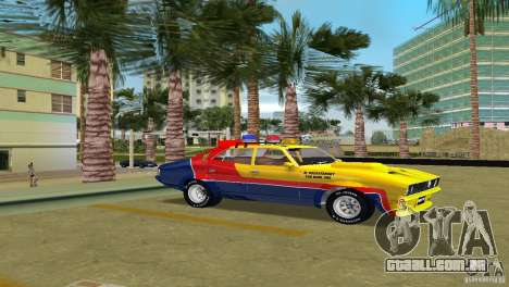 Ford Falcon 351 GT Interceptor para GTA Vice City vista traseira esquerda