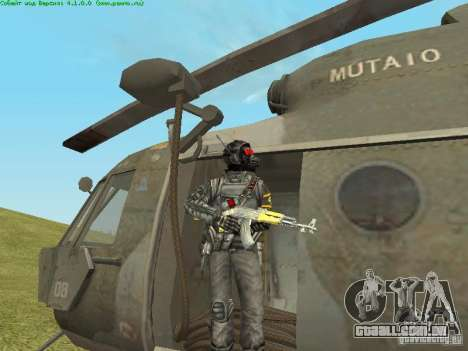 MTV MI-8 para vista lateral GTA San Andreas