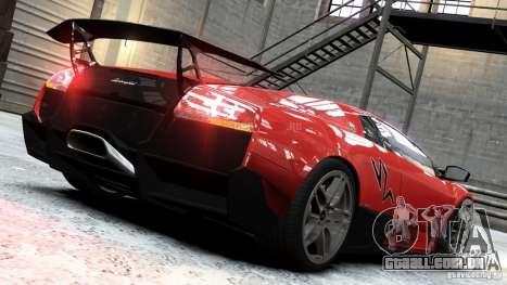 Lamborghini Murcielago LP 670-4 SV 2011 para GTA 4 esquerda vista