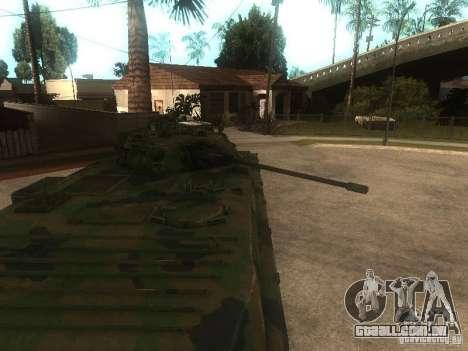 BMP-2 no COD MW2 para GTA San Andreas vista direita