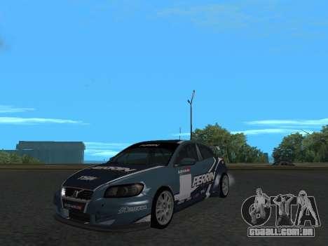 Volvo C30 Race para GTA San Andreas vista direita