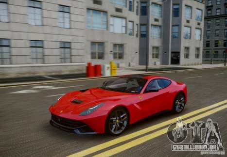 Ferrari F12 Berlinetta 2013 para GTA 4 vista interior