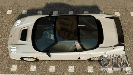Honda NSX-R GT para GTA 4 vista direita