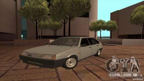 Dreno de 2109 VAZ para GTA San Andreas