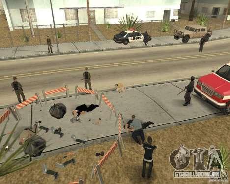 Cena do crime (cena do Crime) para GTA San Andreas