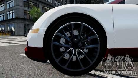 Bugatti Veyron 16.4 v1.0 wheel 1 para GTA 4 vista de volta