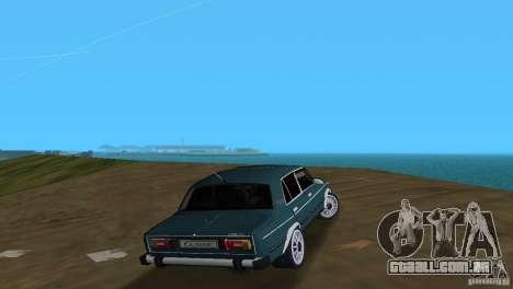 VAZ 2106 para GTA Vice City vista traseira