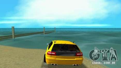 VOLVO V40 para GTA Vice City vista traseira esquerda