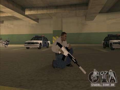 Chrome Weapons Pack para GTA San Andreas terceira tela