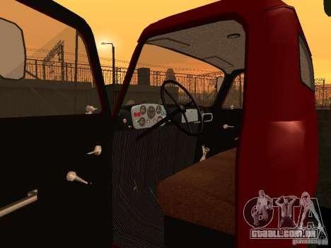 GAZ 52 para GTA San Andreas vista traseira