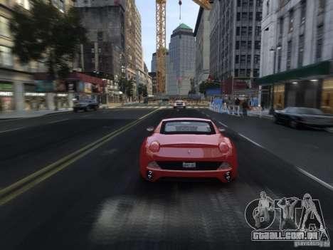 Ferrari California 2009 para GTA 4 vista inferior