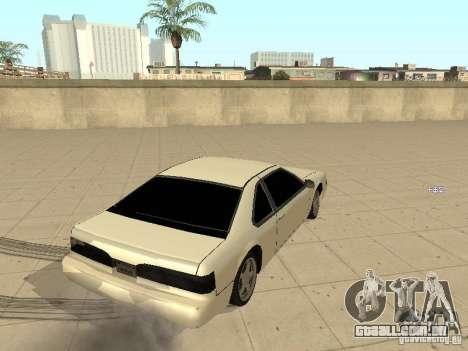 Fortuna por Foresto_O para GTA San Andreas vista direita