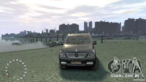 Mercedes-Benz Vito 2013 para GTA 4 vista direita