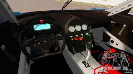 Bugatti Veyron 16.4 Body Kit Final para GTA 4 vista de volta