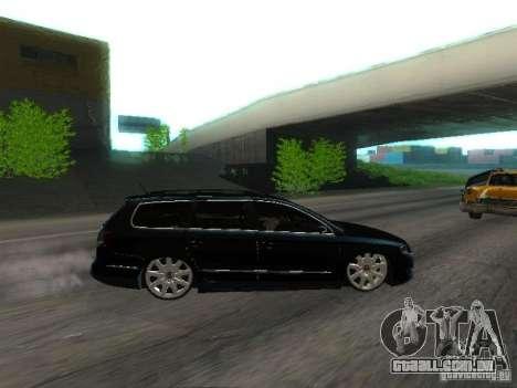 Volkswagen Passat B6 Variant Com Bentley 20 Fixa para GTA San Andreas vista interior