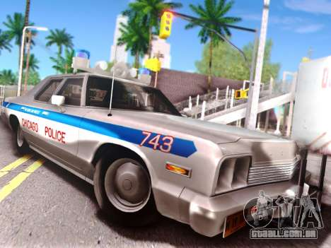 Dodge Monaco 1974 para GTA San Andreas vista superior