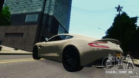 Aston Martin Vanquish 2013 para GTA 4 vista direita