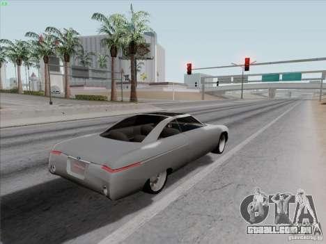 Ford Fortynine para GTA San Andreas vista traseira