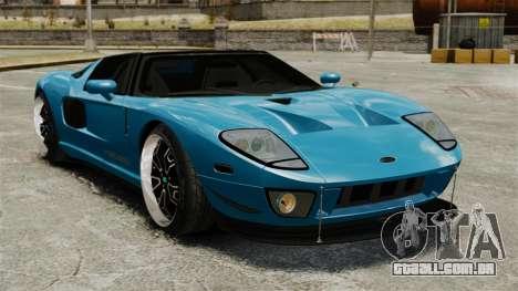Ford GTX1 2006 para GTA 4