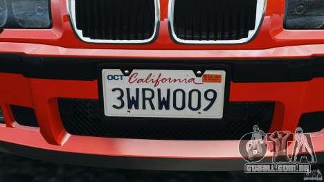 BMW M3 E36 para GTA 4 rodas