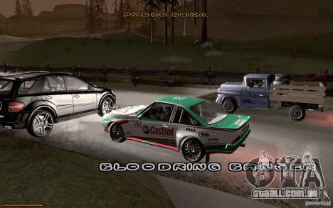 Nova fonte para GTA San Andreas por diante tela