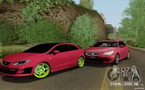 Seat Ibiza Cupra para GTA San Andreas esquerda vista