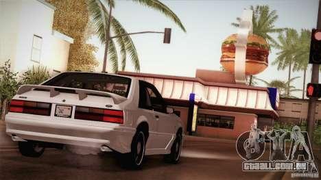 Ford Mustang SVT Cobra 1993 para as rodas de GTA San Andreas