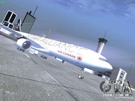 Airbus A330-300 Air Canada para GTA San Andreas