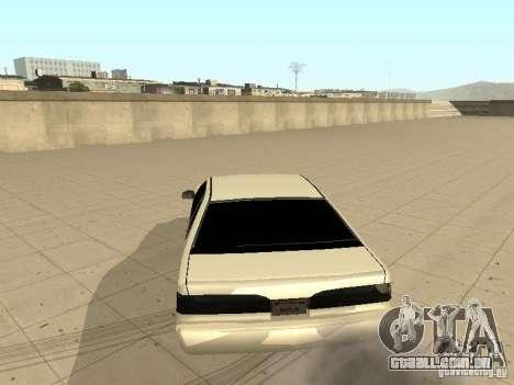 Fortuna por Foresto_O para GTA San Andreas traseira esquerda vista