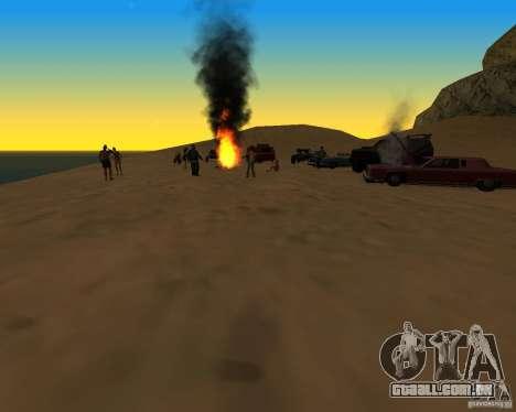 Praia večirinka para GTA San Andreas segunda tela