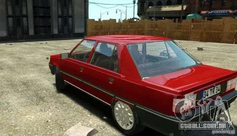 Renault 9 Broadway para GTA 4 traseira esquerda vista