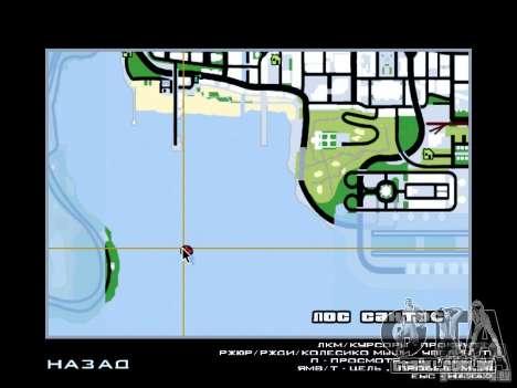 Laguna Seca Raceway para GTA San Andreas quinto tela