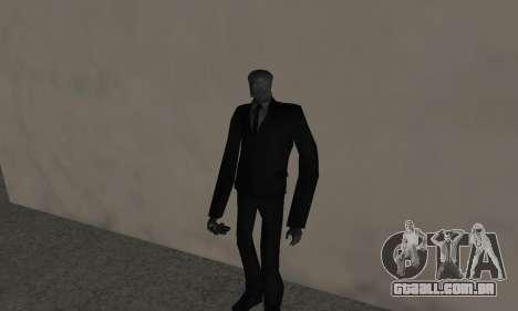 Slender Man para GTA San Andreas segunda tela