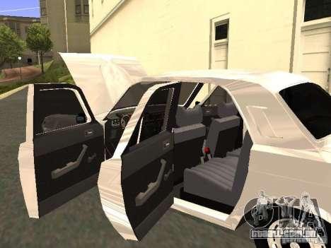 GAZ 24-10 para vista lateral GTA San Andreas