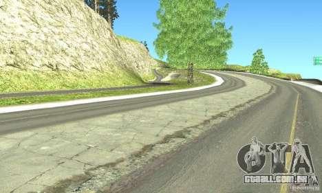 Real HQ Roads para GTA San Andreas sexta tela