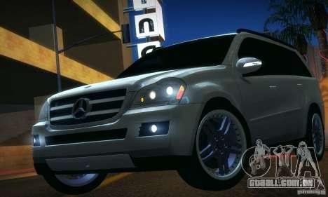 Mercedes-Benz GL500 V.2 para GTA San Andreas traseira esquerda vista