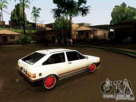 Volkswagen Gol 1994 para GTA San Andreas esquerda vista