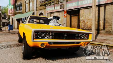 Dodge Charger RT 1970 para GTA 4 vista interior