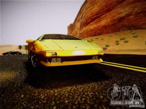 Lamborghini Diablo VT 1994 para GTA San Andreas vista traseira