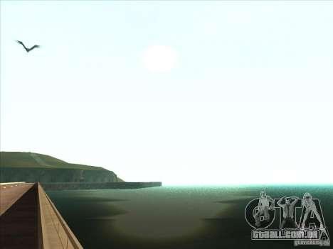ENBSeries v1.0 para GTA San Andreas sexta tela