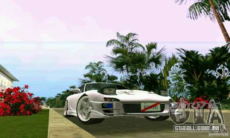 Mazda RX7 tuning para GTA Vice City vista interior