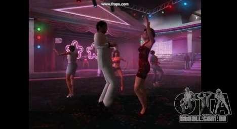 Dança mod para gta vice city para GTA Vice City por diante tela