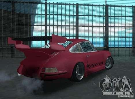 Porsche Carrera RS RWB para GTA San Andreas vista direita
