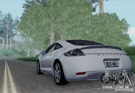 Mitsubishi Eclipse GT V6 para GTA San Andreas vista direita
