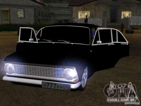 Estilo Extra Moskvitch 408 para GTA San Andreas esquerda vista