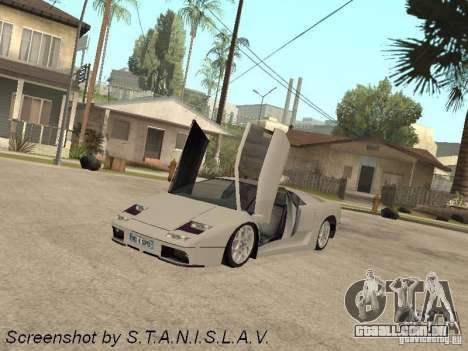 Lamborghini Diablo para GTA San Andreas