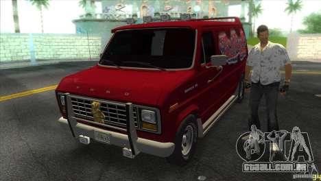Ford E-150 Gang Burrito para GTA Vice City