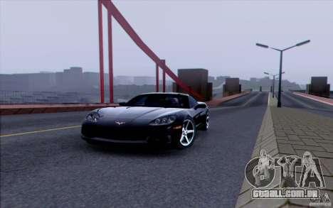 Estrada de HD v 3.0 para GTA San Andreas nono tela