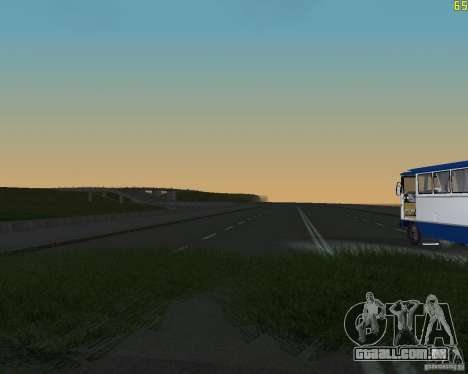 Terminou a construção da estrada para a Rússia d para GTA San Andreas segunda tela