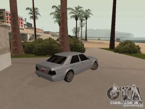 Mercedes-Benz E420 AMG para GTA San Andreas vista interior